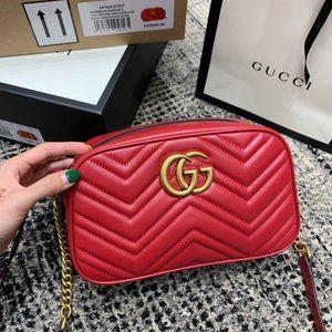 NWT Gucci Marmont Matelasse shoulder bagssme